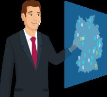 SelectLine Partner deutschlandweit finden